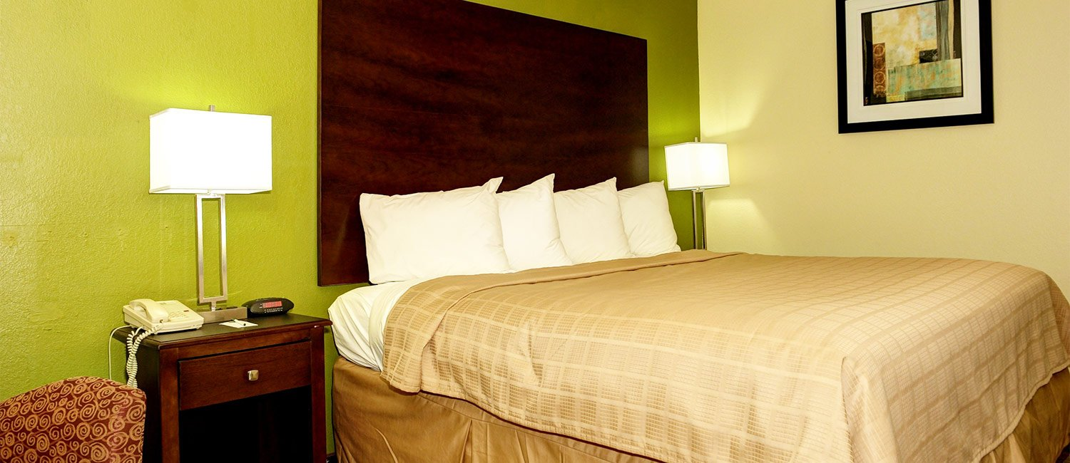 Comfortable King Bed Rooms Perfect for Business Travelers