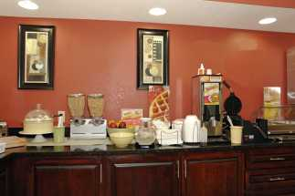 Jacksonville NC Quality Inn Hotel - Cereal Bar at Quality Inn Jacksonville