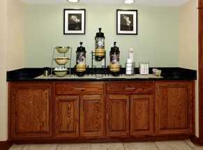 Jacksonville NC Quality Inn Hotel - Cereal Bar
