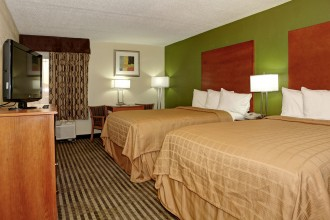 2 Double Accessible rooms available at Jacksonville Quality Inn